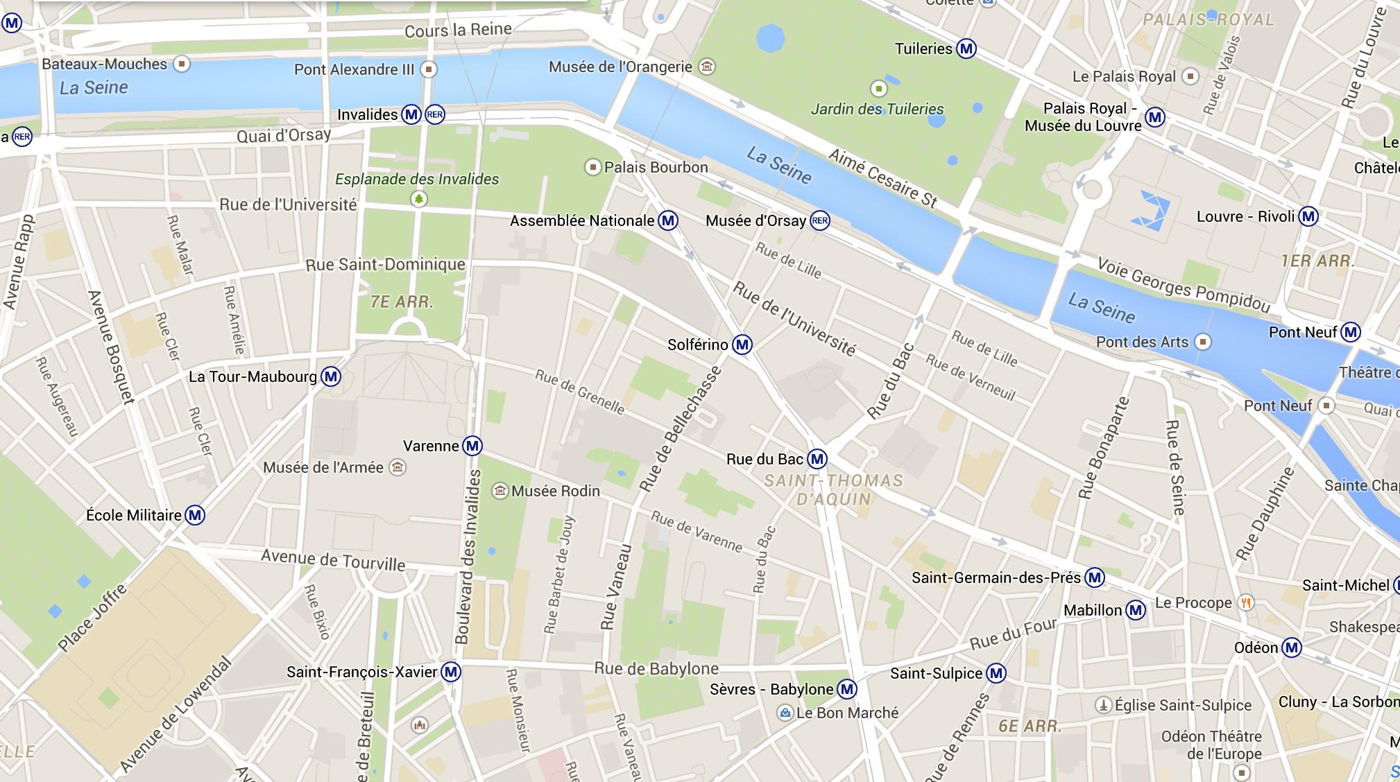 Harta Paris